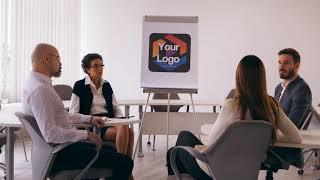 Reveal Your Logo Or Image In This Live Action Drawing Board Meeting Animated Intro Video