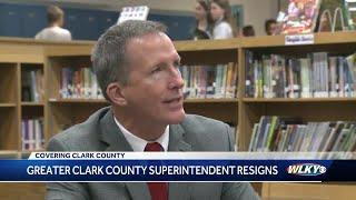 Greater Clark County School Board accepts superintendent's resignation