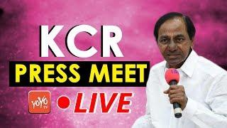 CM KCR LIVE | KCR Meeting With Electricity Board Employees | Pragati Bhavan  | YOYO TV NEWS