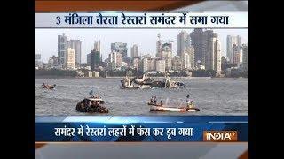 Mumbai: Floating restaurant capsizes, 15 on board safe