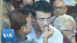 Former Captain Ganguly Poised to Become India Cricket Board Chief