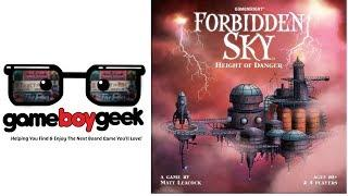 Forbidden Sky Review with the Game Boy Geek