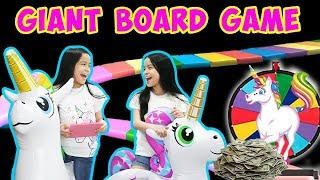 GIANT BOARD GAME CHALLENGE!