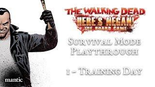 Here's Negan: The Board Game - Survival Playthrough - Episode 1