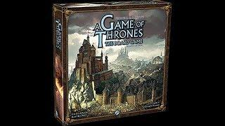 Board Watch Live Play - Game of Thrones: The Board Game
