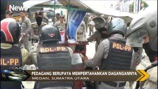 Penertiban PKL Ricuh, Pedagang Keluarkan Senjata Tajam untuk Usir Petugas - Police Line 01/11