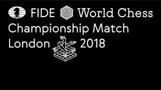World Chess Championship London 2018