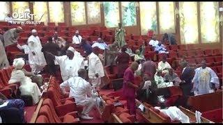 Full Video: Senate in rowdy session over EFCC board nominees