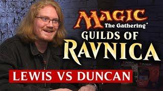 Magic The Gathering: Guild Kits #3 | Duncan (Izzet) vs Lewis (Golgari)