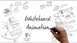 How to make white board animation videos ( हाथों से लिखने बाली videos कैसे बनाये ) use ???? headphon