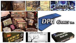 My New Favorite Artist DPH Games Owner and Board Game Designer Affliction Psych Warfare Cache Me If