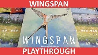 Wingspan - Playthrough - slickerdrips