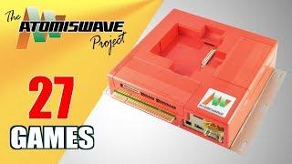 The Sammy Atomiswave Project - All 27 Games (Arcade Board/Hardware)