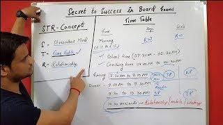 Best Motivational video for board exam students in hindi, daily routine time table for students