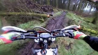 Glendalough Enduro 2019 round Two of TORC Irish Championship. On Board Video