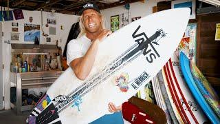 "Dane Gudauskas Shows How Channel Islands' Rocket Wide Surfboard was ""Designed to Just Enjoy"""