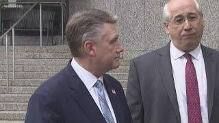 RAW: Mark Harris addresses the media after meeting with the state board of elections