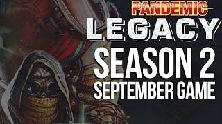 Pandemic Legacy Season 2 September Game - SPOILERS Full Board Game Play Session
