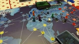 Lets Play Pandemic Board Game.  Part 3 of 5