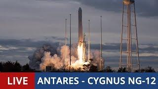 LIVE: Rocket Launch of Antares with Cygnus NG-12 Cargo Craft