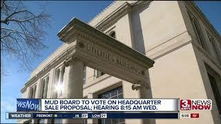 MUD Board to vote on headquarter sale proposal
