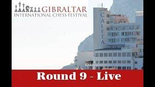 ???? Gibraltar Masters 2019 Round 9 | GM Simon Williams and and IM Jovanka Houska