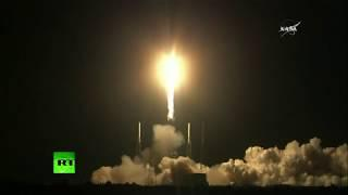 SpaceX rocket launches to Intl Space Station with AI on board