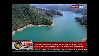 SONA: MWSS board of trustees, pag-aaralan kung paano papanagutin ang Manila Water sa water shortage
