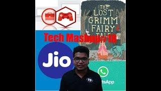 Tech News Mashup#18: Jio 6000 crore, bsnl 5g, admin power, G-Board, gaming industry,