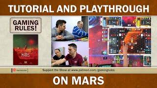 On Mars - Official Tutorial and Playthrough