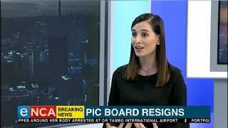 Public Investment Corporation's board of directors has resigned