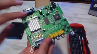 Game Nexus Arcade video Improving the GBS8200 Video Converter Board