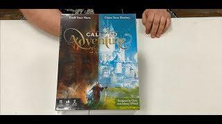 Call to Adventure Kickstarter Unboxing Brotherwise Games