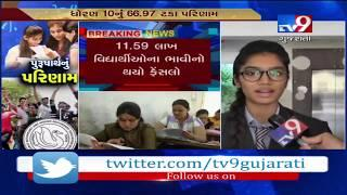 Gujarat Board 10th result 2019 announced: Surat on top with total 76.63% passing percent- Tv9