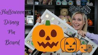 Disney Halloween Pin Board