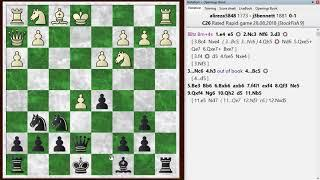 Blitz chess postmortem #857: Vienna game