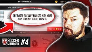 COMPLETING BOARD OBJECTIVES! - New Star Soccer Manager #04