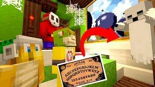 OUIJI BOARD AT 3AM! *NEVER DO THIS!* *HAUNTED* | Bowser Jr's Halloween | Minecraft [3]