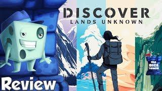 Discover: Lands Unknown Review - with Tom Vasel