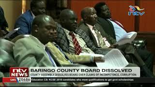 Baringo county assembly dissolves board over claims of incompetence, corruption