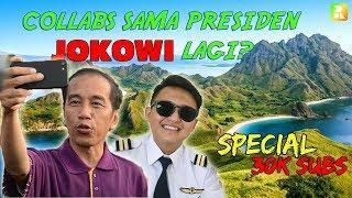 Terbang Ke Labuan Bajo bersama pak Jokowi lagi?