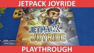 Jetpack Joyride (Board Game) - Playthrough - slickerdrips