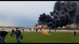 One dead and several injured on Russian plane that landed with fire on board - Russian news agencies