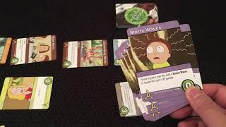 Board Game Reviews Ep #53: RICK AND MORTY: CLOSE RICK-COUNTERS OF THE RICK KIND DECK-BUILDING GAME