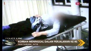 Wanita Tewas Bersimbah Darah di Depan Rumah Usai Dijambret - Police Line 01/05