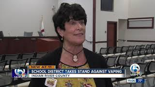 Indian River County School Board passes a resolution to target growing vaping concerns