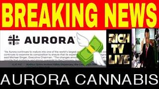AURORA CANNABIS (NYSE: ASB) (TSX: ACB) ANNOUNCES KEY CHANGES TO ITS BOARD OF DIRECTORS