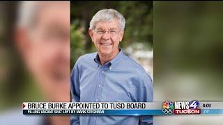 Former TUSD board member Bruce Burke appointed to fill open seat