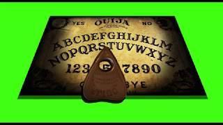 Free Green Screen - Ouija Board Demon