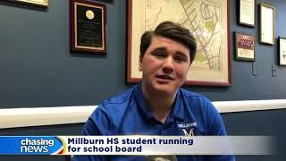 Millburn HS student running for school board